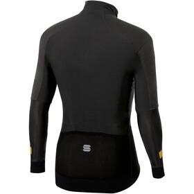Sportful Bodyfit Pro Chaqueta Hombre, black/gold